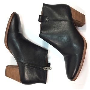 Madewell booties sz 8 black Billie ankle boots